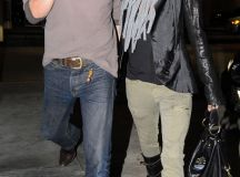 Pictures of Halle Berry and Olivier Martinez in LA ...