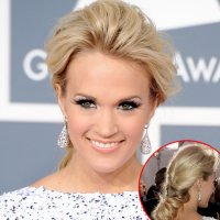 Carrie Underwood's Hair and Makeup Look at the 2012 Grammy ...