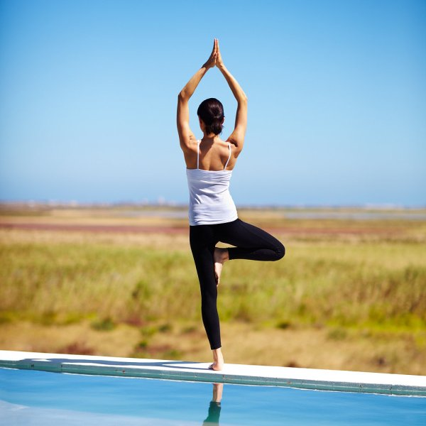5 Yoga Poses Clearing Mind Popsugar Fitness