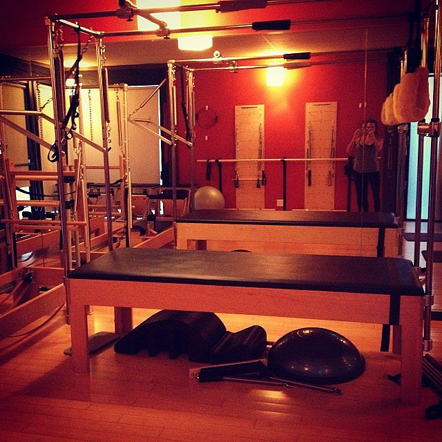 Renee Bargh In Her Pilates Red Room Of Pain 40