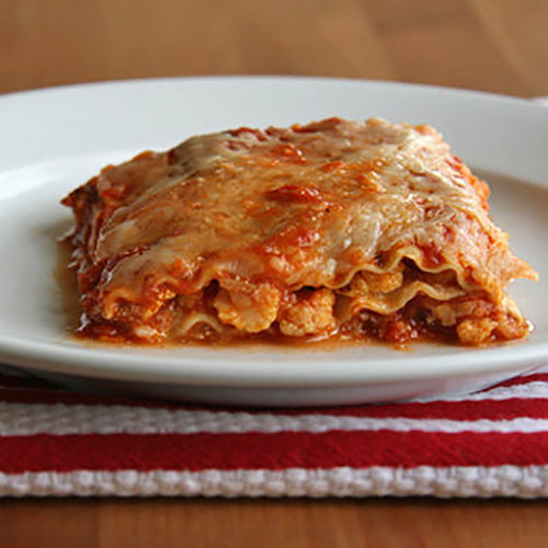 Healthy Vegetable Lasagna Recipe  POPSUGAR Fitness