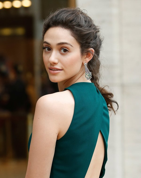 Emmy Rossum Makeup