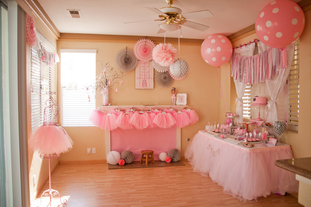 Balletthemed Birthday Party  Popsugar Moms