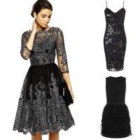 Light dresses blog: Black party dress uk