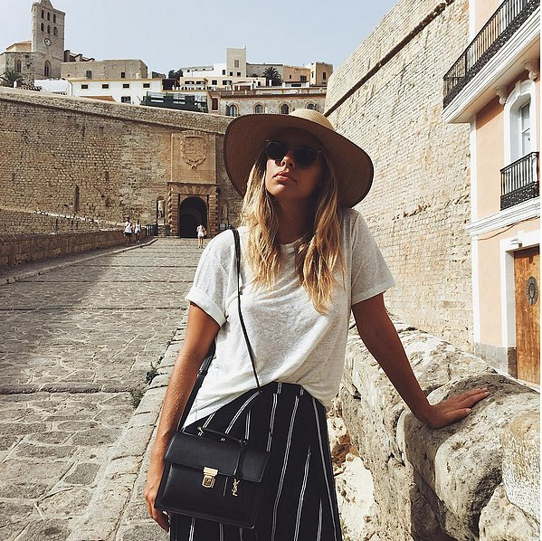 42 Fashion-Girl Ways to Style a White Tee