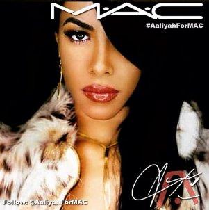 Aaliyah For MAC