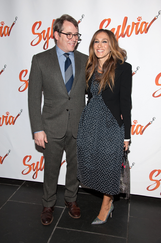 Sarah Jessica Parker e Matthew Broderick hanno la notte della data di Broadway più perfetta