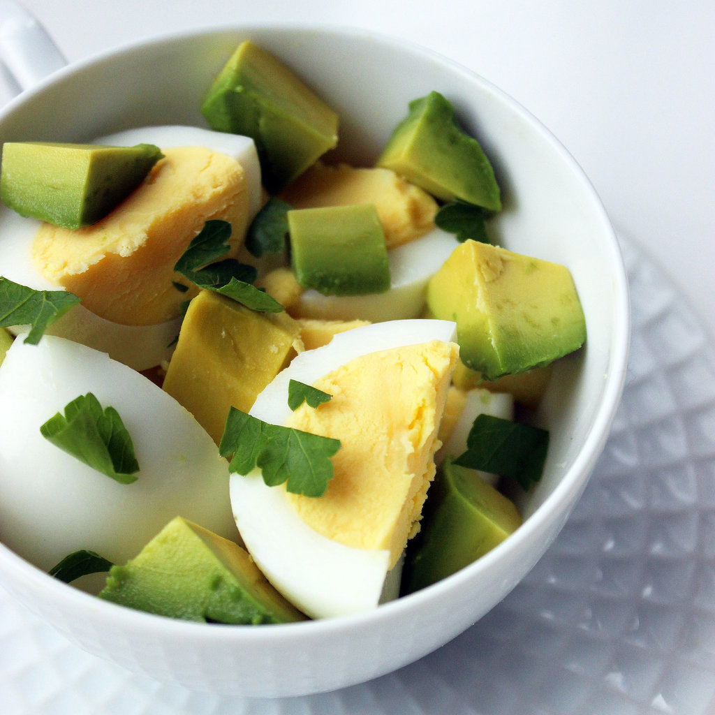hard boiled egg breakfast recipes