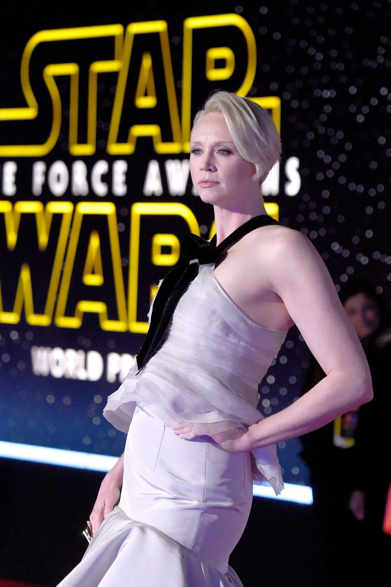 Pictured: Gwendoline Christie