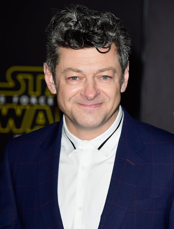 Andy Serkis #oscarssowhite Academy Lined Diverse Collection Of