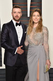 Pop up di Justin Timberlake ad un Oscars borioso Afterparty con Jessica Biel