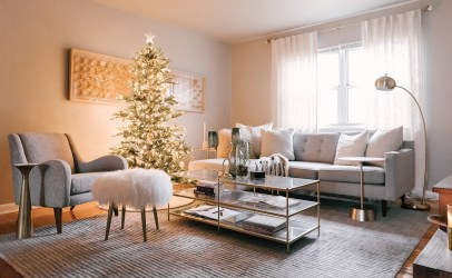 Simple Christmas Living Room Zoom Background 49 Christmas Zoom Backgrounds That Even Santa Claus Himself Would Approve Of POPSUGAR Tech Photo 13