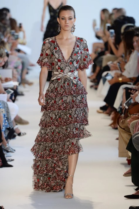 The Altuzarra Spring 2017 collection debuted on Sept. 11 at New York Fashion Week.