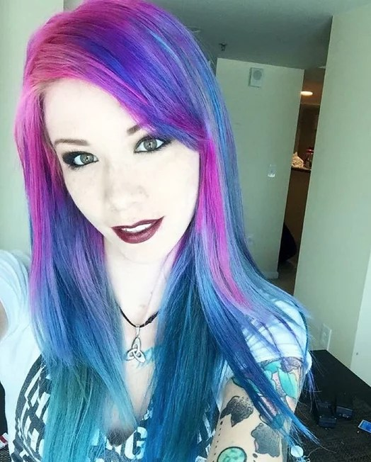 Galaxy Hair Color Ideas POPSUGAR Beauty Photo 5