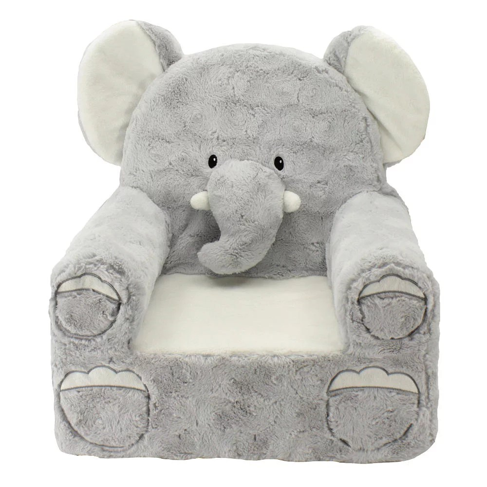pottery barn bean bag chair rocking ottoman cushions elephant nursery decor | popsugar moms
