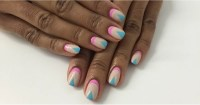 Reverse French Manicure Nail Art DIY   POPSUGAR Beauty