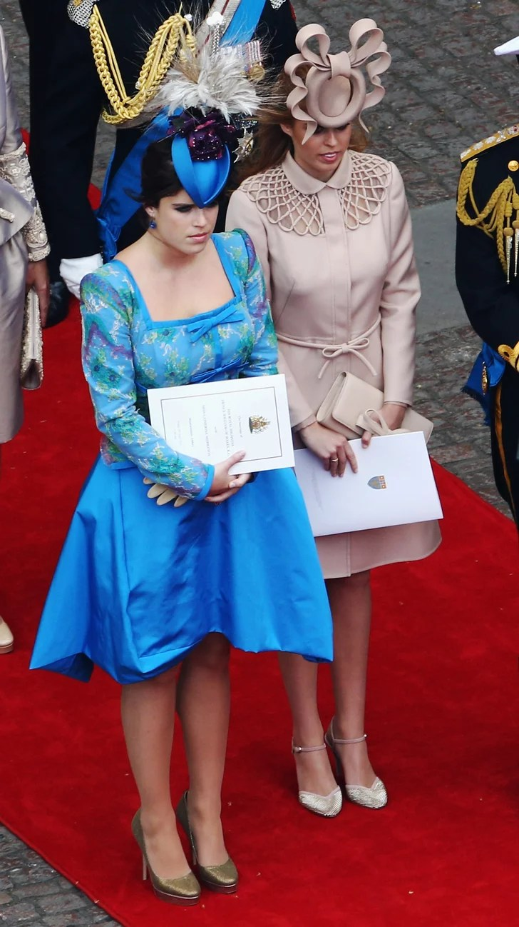 Princess Eugenie and her sister Beatrice made quite the