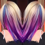 underlights hair colour trend