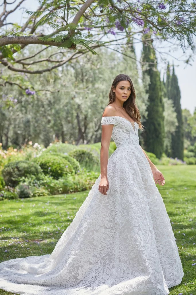 Intricate Embroidery | Best Wedding Dresses For Spring ...