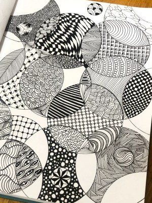 zentangle drawing meditation easy patterns drawings method circle popsugar different tangles weeks bed well fitness shapes squares meditative paper artist