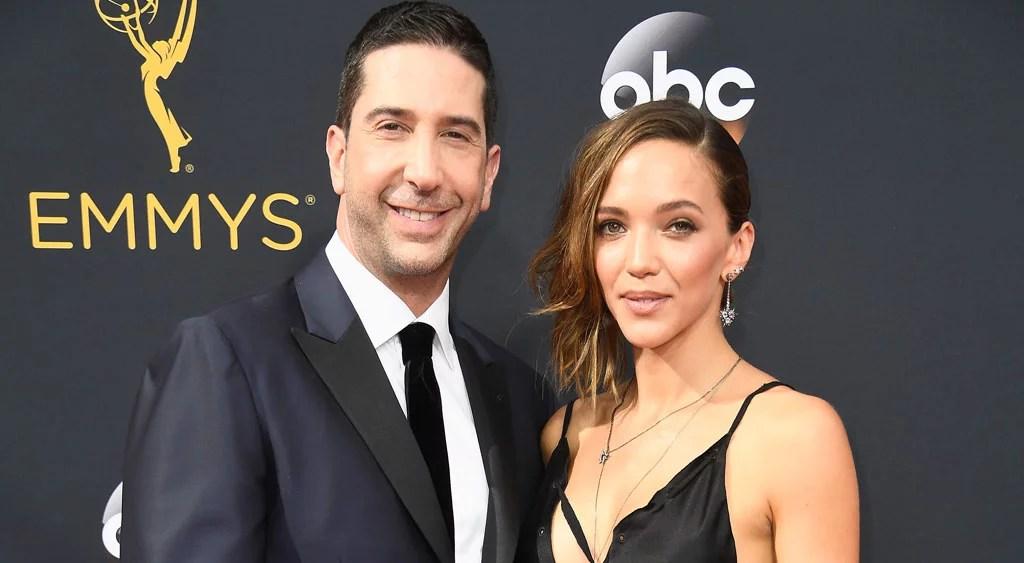 David Schwimmer e moglie Zoe Buckman separato dopo 6 anni di matrimonio