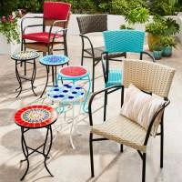 Del Rey Mocha Stacking Chair | Pier 1 Memorial Day Outdoor ...