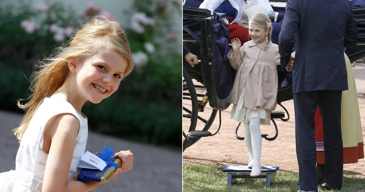 From Royal Baby to Big Lady: 23 Adorable Photos of Sweden's Princess Estelle