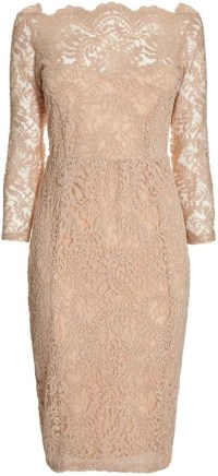 Next cream lace dress with scalloped neckline (50) | Best ...