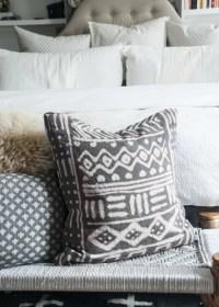 Use a Bleach Pen | DIY Mudcloth Pillows | POPSUGAR Home ...