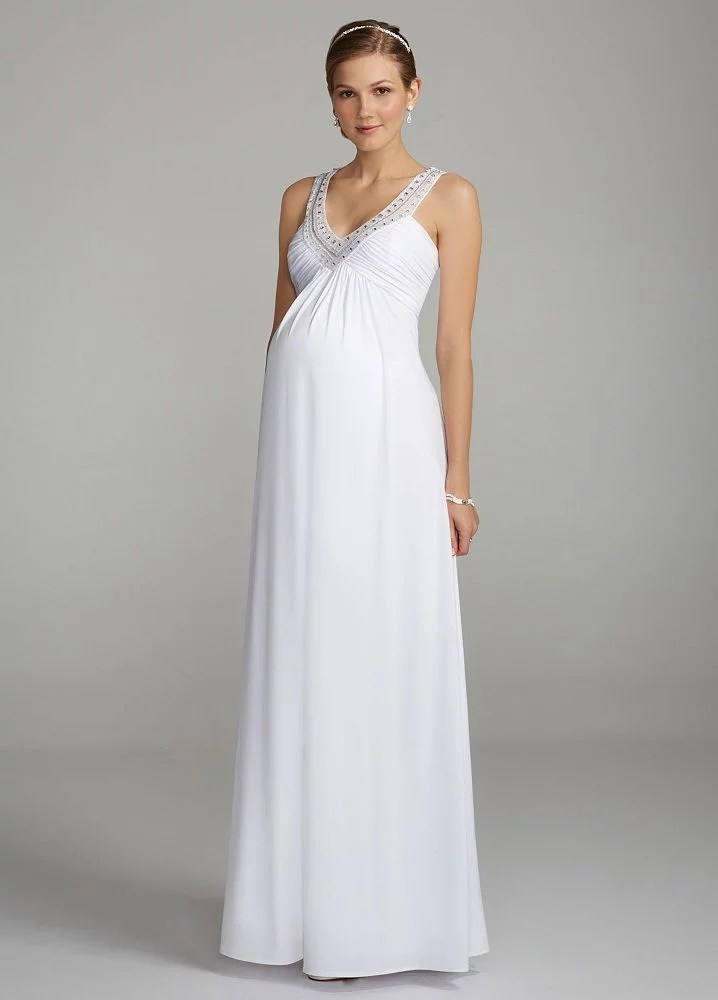 Affordable Maternity Wedding Dresses  POPSUGAR Moms