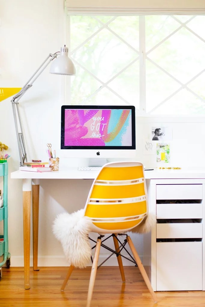Ikea Desk Hacks POPSUGAR Home