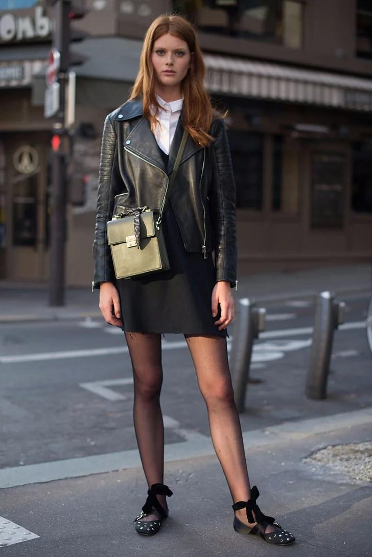 Falda Combinar Con Que Una Zapatos Y Mostaza
