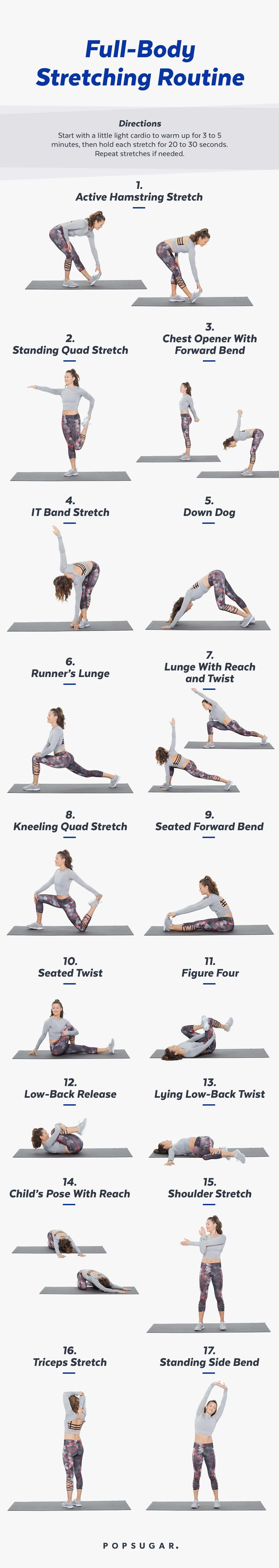 Printable Stretch Routine