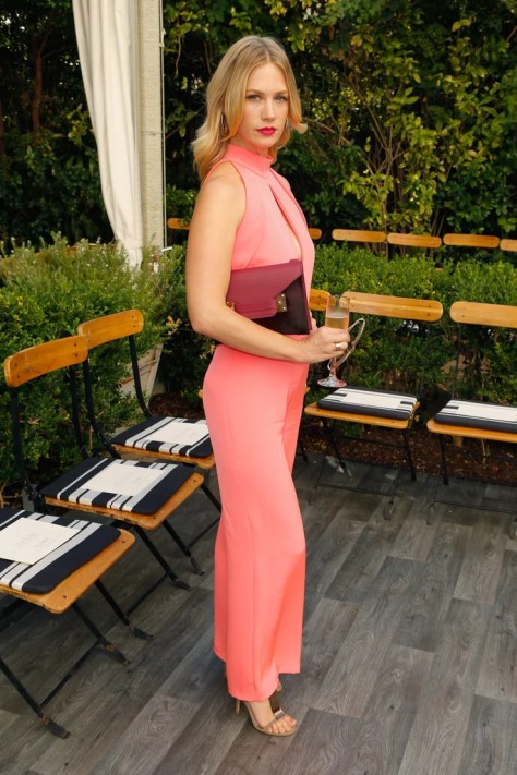 January Jones Wearing Cushnie et Ochs