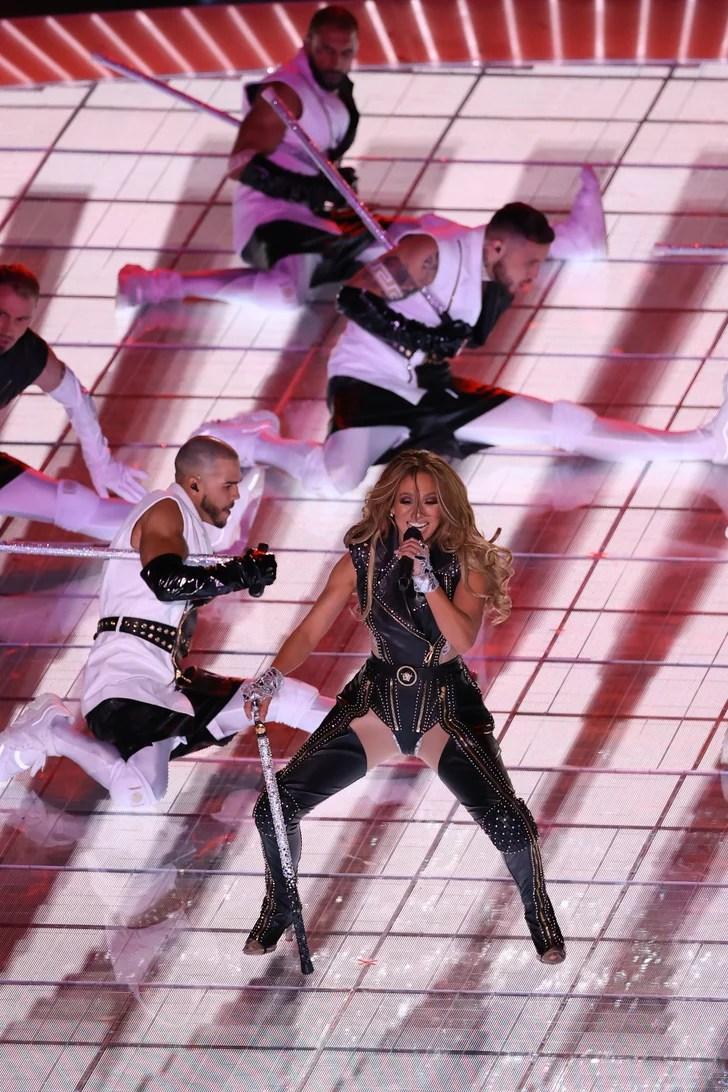 See All of Jennifer Lopez's Super Bowl Halftime Show Outfits   POPSUGAR Fashion Photo 18