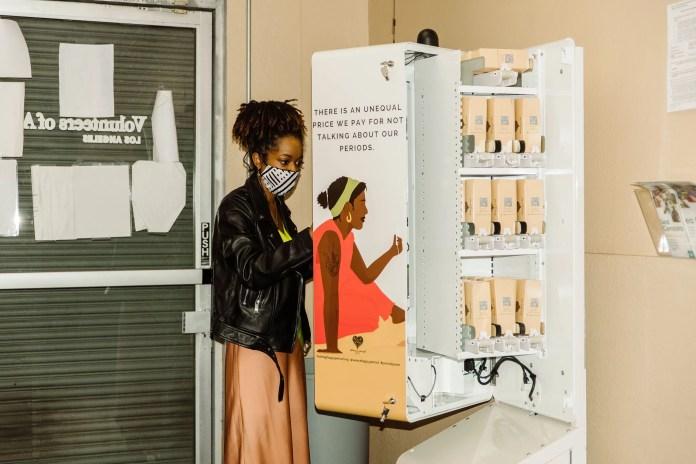 #HappyPeriod vending machines