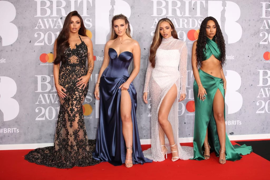 Perrie Edwards Brit Awards 2019 Dress