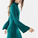 Bardot Tash Bell-Sleeve Sweater Dress
