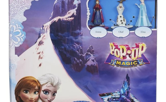 For 3 Year Olds Disney Pop Up Magic Frozen Game Best