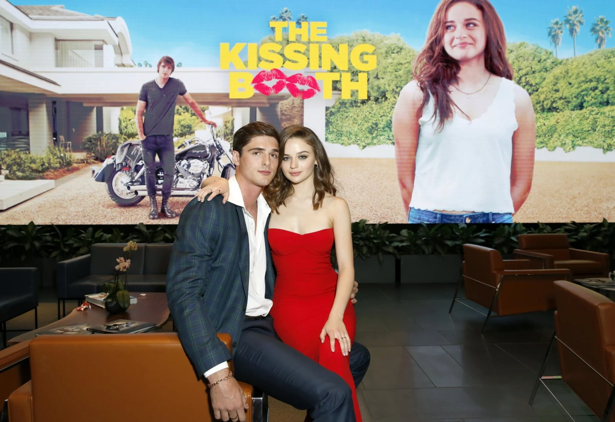 LOS ANGELES, CA - MAY 10:  Jacob Elordi and Joey King attend a screening of 'The Kissing Booth' at NETFLIX on May 10, 2018 in Los Angeles, California.  (Photo by Rachel Murray/Getty Images for Netflix)