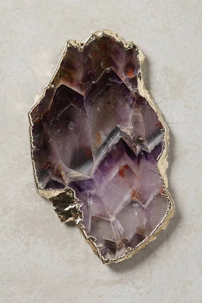 Geode and Crystal Home Decor Products  POPSUGAR Home