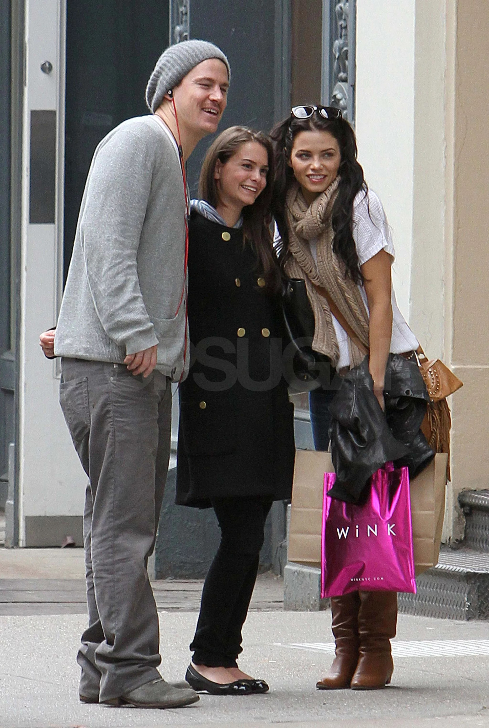 Pictures Of Channing Tatum And Jenna Dewan Shopping In
