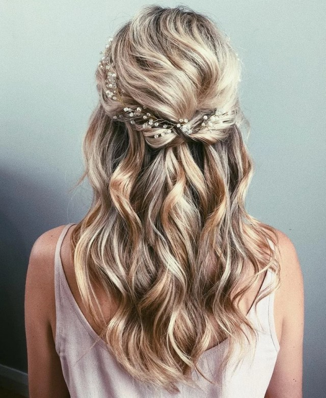 half-up wedding hair ideas | popsugar beauty australia