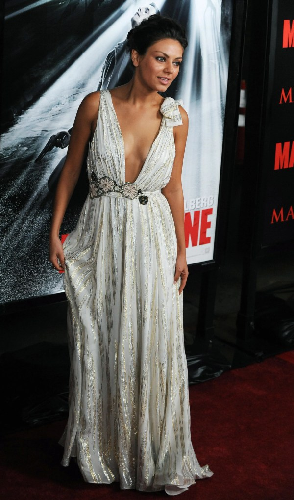 Red Carpet Of Mark Wahlberg Mila Kunis And