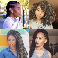 Black Braided Hairstyles With Extensions | POPSUGAR Beauty