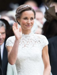 Pippa Middleton's Wedding Earrings | POPSUGAR Fashion