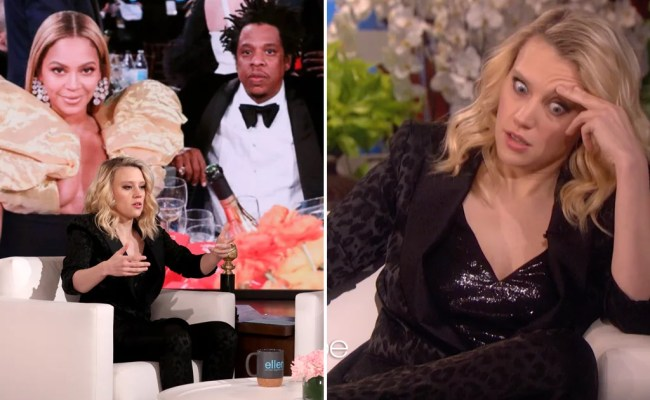 Watch Kate Mckinnon Talk Meeting Beyoncé At The Globes