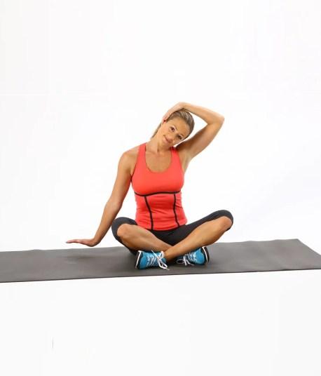 collo stretching yoga