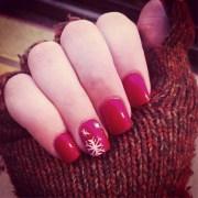 holiday nail art design popsugar