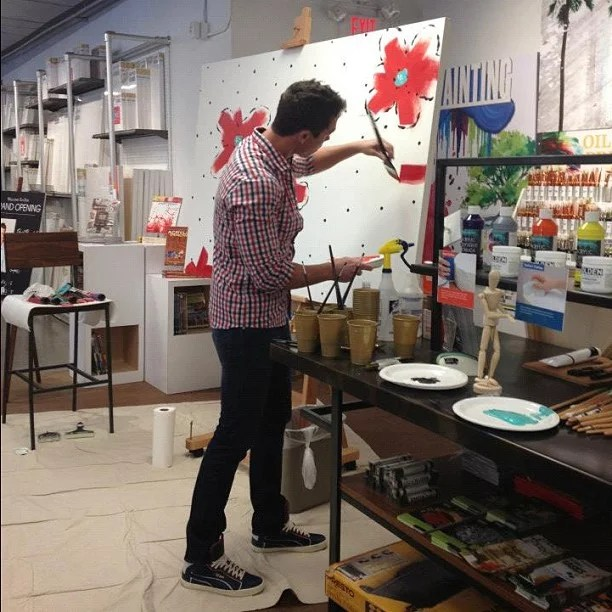 He Worked For Disney  David Bromstad Biography  POPSUGAR Home Photo 5